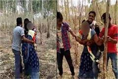 trying to rape with woman in unnao video viral 3 accused arrested