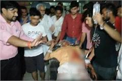 rss worker brajesh sharma shot in firozabad