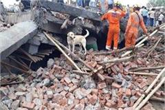 ghaziabad building fall case these officials have fallen