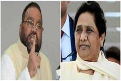 sending rakhi mayawati is harmful swami prasad maurya