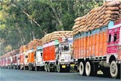 farmers are disturbed due to strike of transporters