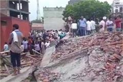 ghaziabad building accident