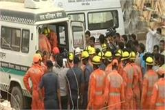 noida building accident bodies of 9 people recovered fall on officer