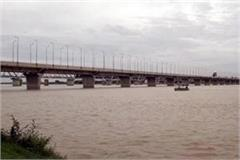 yamuna water level in allahabad
