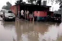 jalapralaya in yamunanagar submerged in national national highway 73