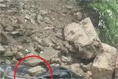 landslide of grip in came shimla