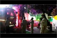 minor agarbatti disturbed the wedding ceremony burning fire from the fire