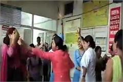 dancing in civil hospital