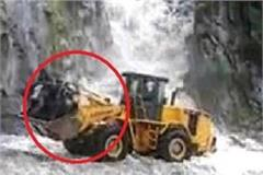 rescue operation on jcb at bharmour