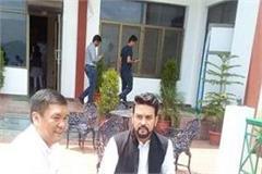 anurag rupa ganguly and chief minister of arunachal in kasauli