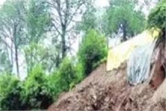kalka shimla rail track threat from landslide