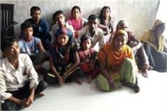 mathura 13 bangladeshi citizens were arrested by slums by slums