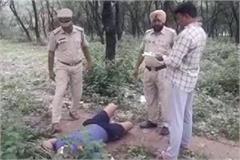 dead body found in army area