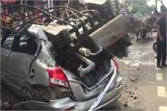 accident transformer driver injured