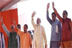 modi s meeting with party leaders in varanasi given electoral  gurmantra