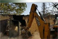 encroachment remove from mangal nath temple ujjain