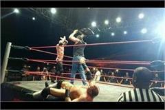 khali sapna choudhary rakhi sawant wrestling show