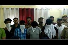 lucknow police arrest big success 4 vicious thieves arrested