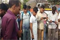 youth killed in road accident people making videos
