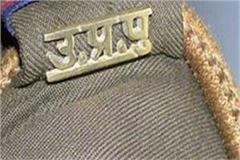 suspended policemen beating bjp leader