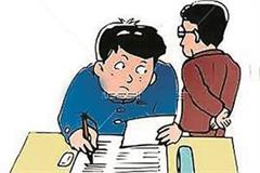 cheater caught in compartment and marks improvement exam