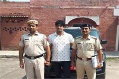 gabbar sarpanch arrested for panic in sonipat s pipali village