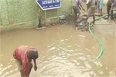 child death due to drowning pit for toilet
