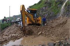 rain creates havoc in sirmour of himachal pradesh