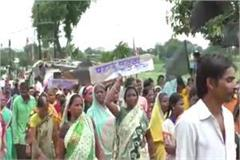 protest against voting in chindwada