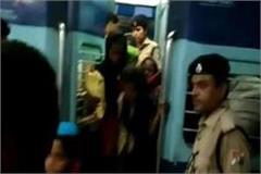 railway police in gorakhpur set to free 26 girls 2 human trafficking arrests