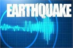 earthquake in sonipat