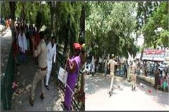sp lady council workers nabaj sticks many people screwed head