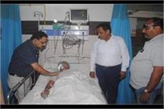 padmashree gopaldas neeraj suffered heart attack