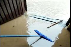 havoc of rain in baddi barotiwala water entered in house shops and industies