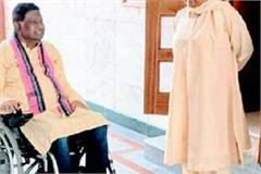 mayawati meets ajit jagei stir in political corridor