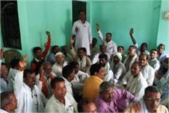 raiding health department team on 3 illegal pathology labs