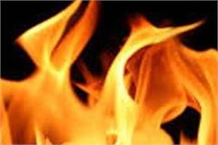 fire in shop by short circuit loss of millions