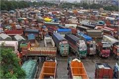 international trade jam due to truck strike due attic border