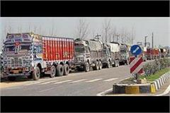 oil price hike to work impeded truck operators slogan