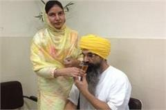balwant singh rajoana finishes hunger strike