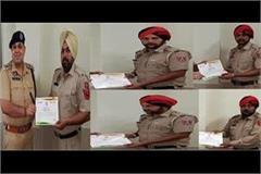 policemen fighting against drug dealer given honored