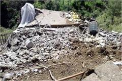 5 story house collapsed in jabali loss of millions