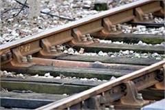ultrasonic machines holding rail track lapses