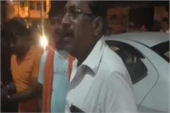 police raids on bjp leader s hotel dozens of people gambling