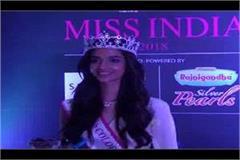 miss india 2018 first runner up meenakshi chaudhary reached panchkula