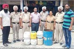 excise department raided village hassanpur kalan