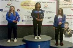 manu bhaker win gold in world cup meeting of shooting hopes games