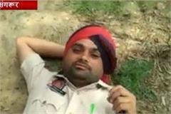 drunken constable sacked sangrur police action