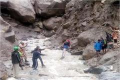 search campaign launched for devotees in kinnar kailash yatra