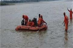 rescue villagers stranded in the river sap